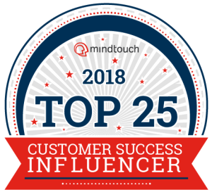 2018 Mindtouch Top 25 Customer Success Influencers